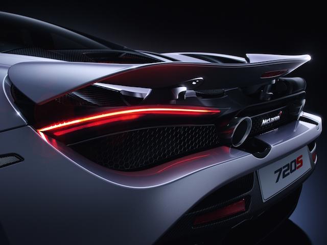 McLaren 720S exhaust