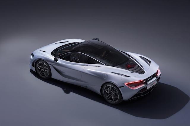 McLaren 720S top