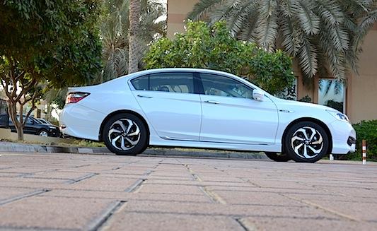 Honda Accord 2.4L profile
