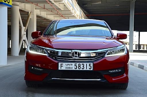 Honda Accord 3.5L grille