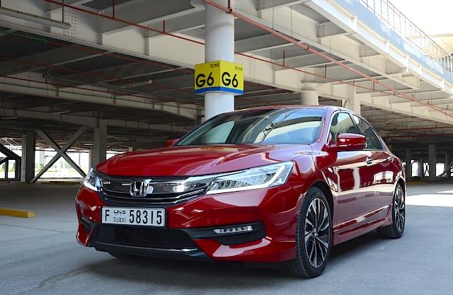 Honda Accord 3.5L parking