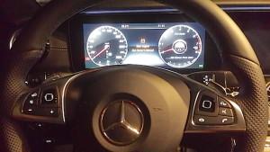 Mercedes E Coupe panel