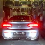 Mercedes E Coupe rear