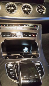 Mercedes E class console
