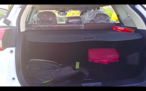 Geely X7 Sport boot space