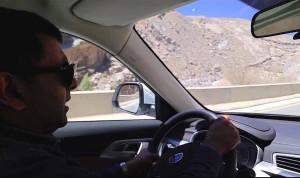 Geely X7 Sport steering