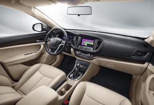 New MG 360 interior