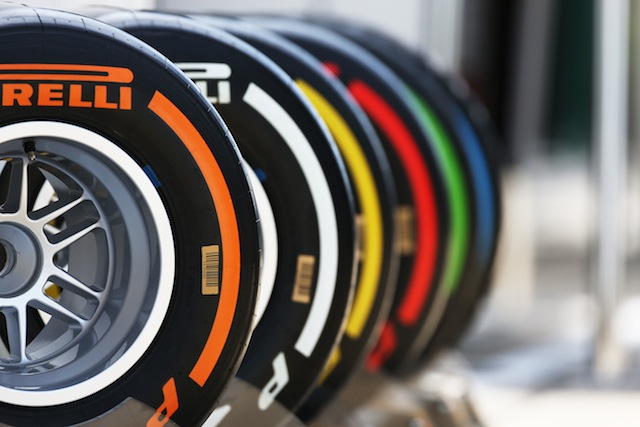 Pirelli colour code