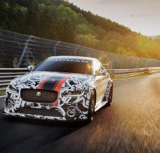 Jaguar XE SV Project 8 prototype testing Nurburgring