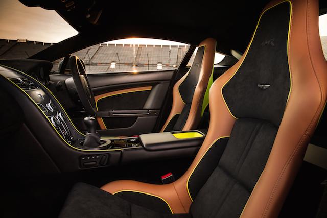 Aston Martin AMR interior