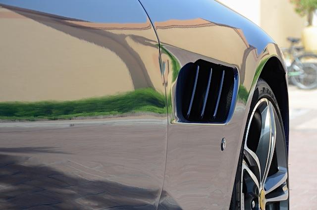 Ferrari GTC4Lusso air fins