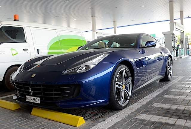 Ferrari GTC4Lusso fuel economy