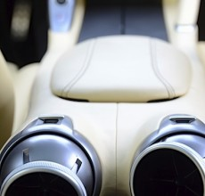 Ferrari GTC4Lusso rear vents