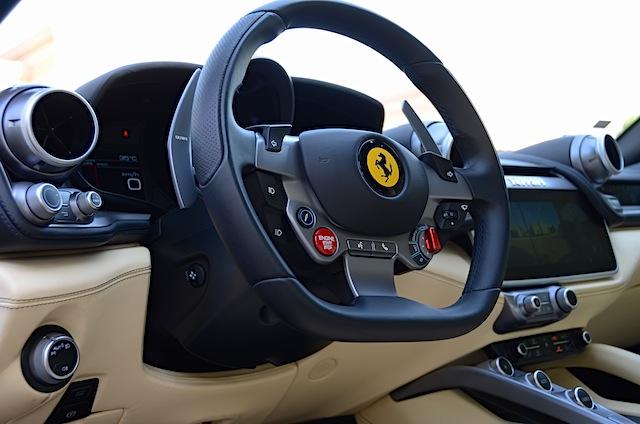 Ferrari GTC4Lusso steering