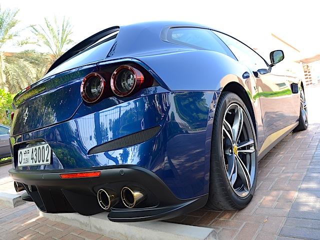 Ferrari GTC4Lusso tail lamps