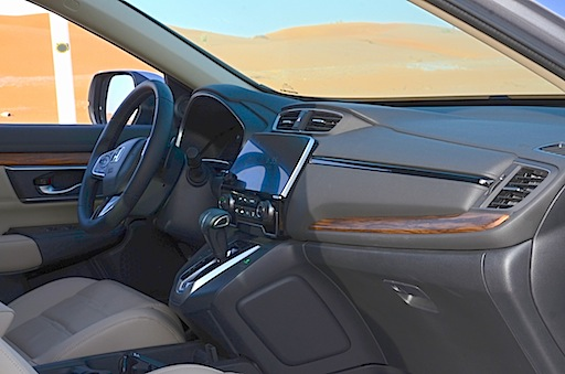 Honda CR-V dash wood trim