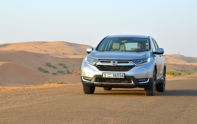 Honda CR-V review UAE