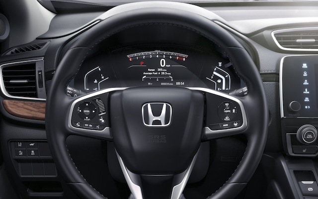 Honda CR-V steering