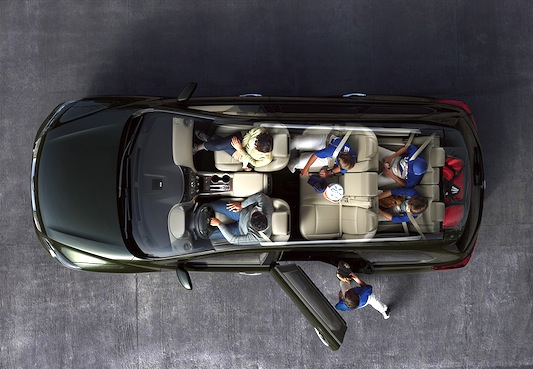Nissan Pathfinder 2018 7 seater