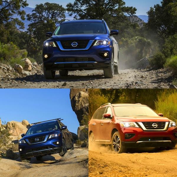 Nissan Pathfinder 2018 multi terrains