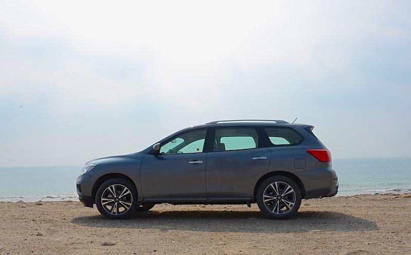 Nissan Pathfinder 2018 test drive