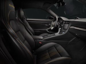 Porsche 911 Turbo S Exclusive series interior