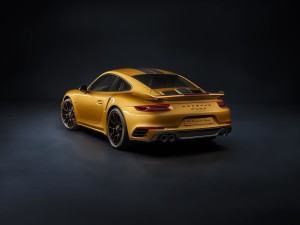 Porsche 911 Turbo S Exclusive series rear