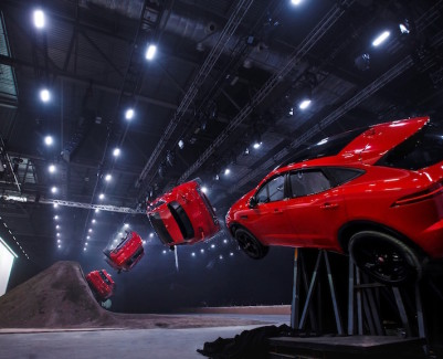 Jaguar E-PACE launch