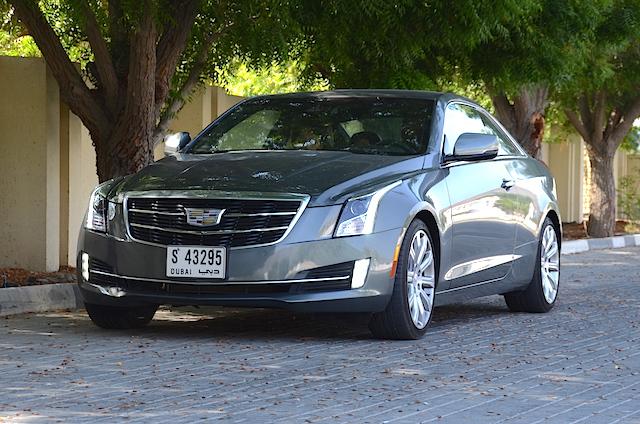 Cadillac ATS Coupe drive