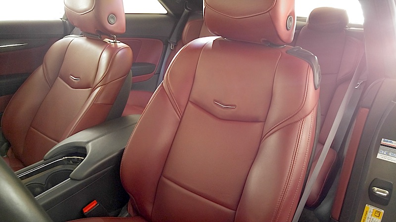 Cadillac ATS Coupe leather seats