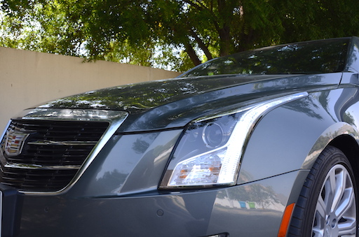 Cadillac ATS Coupe lights