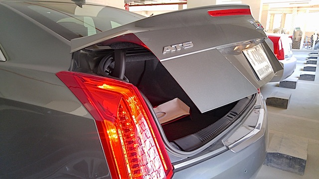 Cadillac ATS Coupe pictures boot