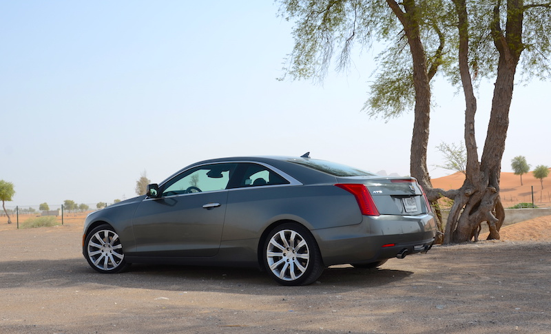 Cadillac ATS Coupe rear