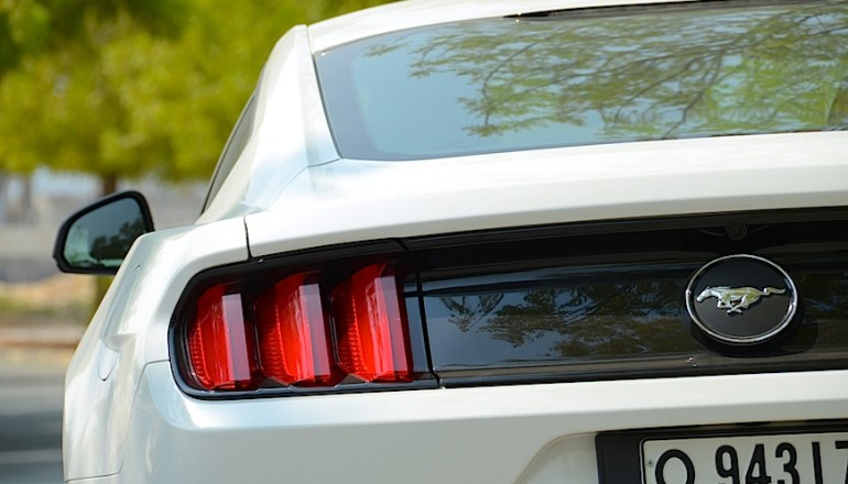 Ford Mustang Ecoboost Fastback review UAE