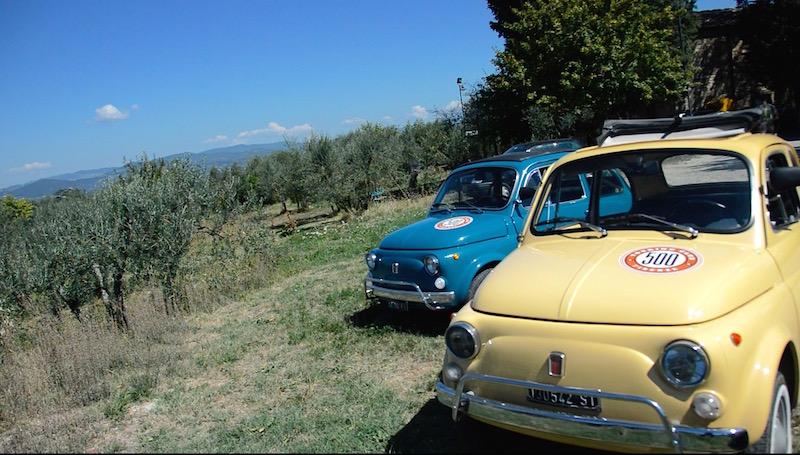 Tuscany fiat Olive garden