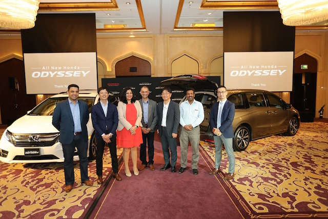 Honda Odyssey launch