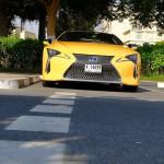 Lexus LC 500h UAE review