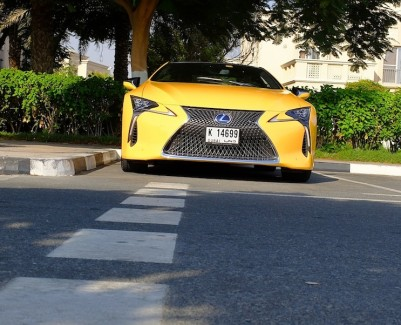 Lexus LC 500h UAE review