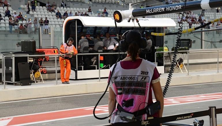 ADGP Mercedes pitstop