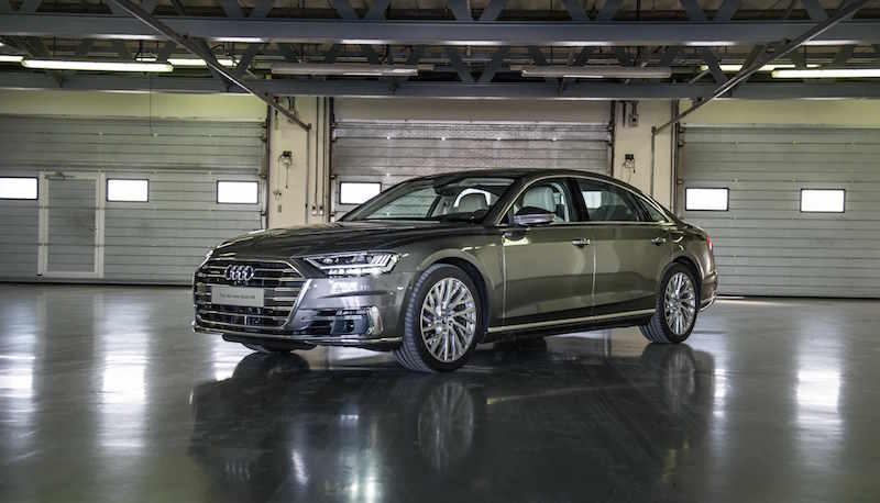 All-new Audi A8L