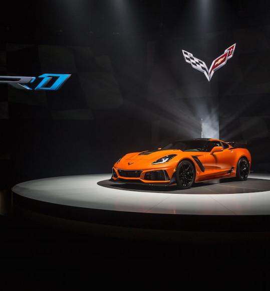 Corvette ZR 1 World Premiere