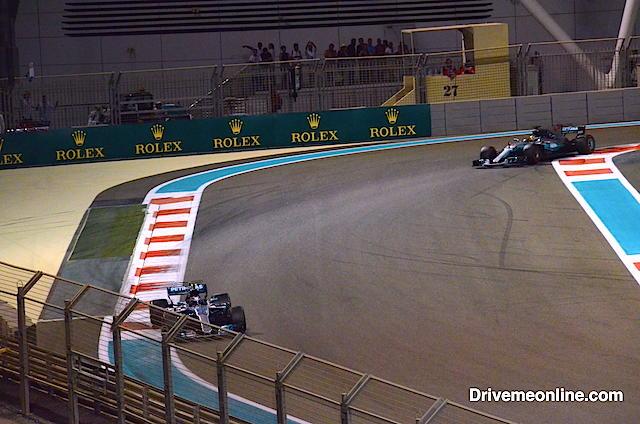 Mercedes duo