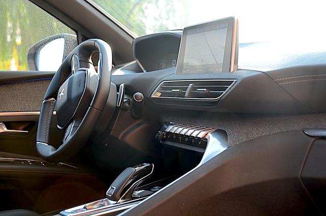 Peugeot 3008 dashboard