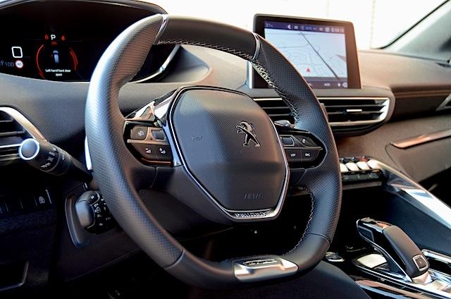 Peugeot 3008 steering