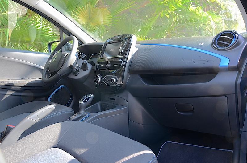 Renault Zoe interiors