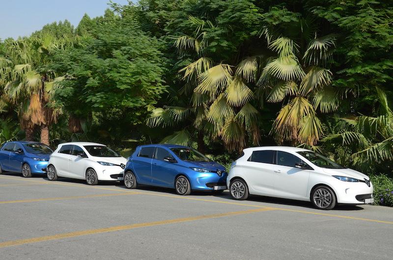 Renault Zoe line up
