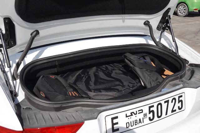 Jaguar F Type R boot