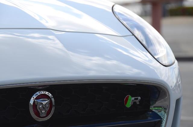 Jaguar F Type R grille