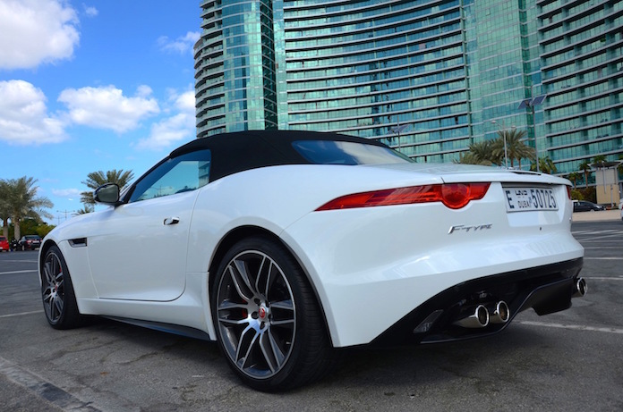 Jaguar F Type R rear