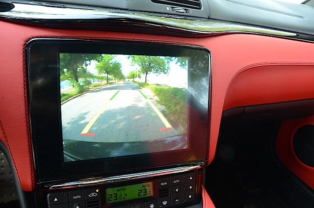 Maserati GranTurismo 2018 new camera